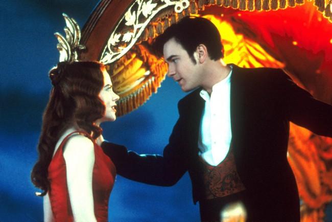 Nicole Kidman & Ewan McGregor in the 2001 film, Moulin Rouge!