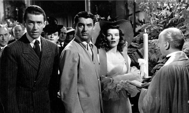 The final scene in The Philadelphia Story.