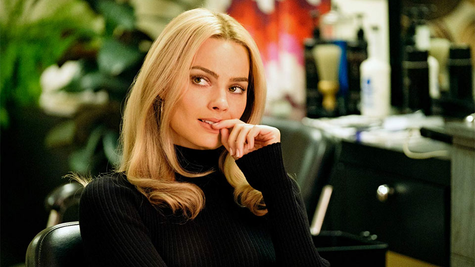Margot Robbie as Sharon Tate.