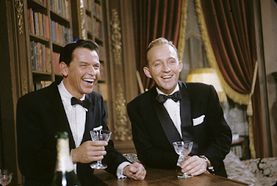 Sinatra and Crosby in a scene from High Society.