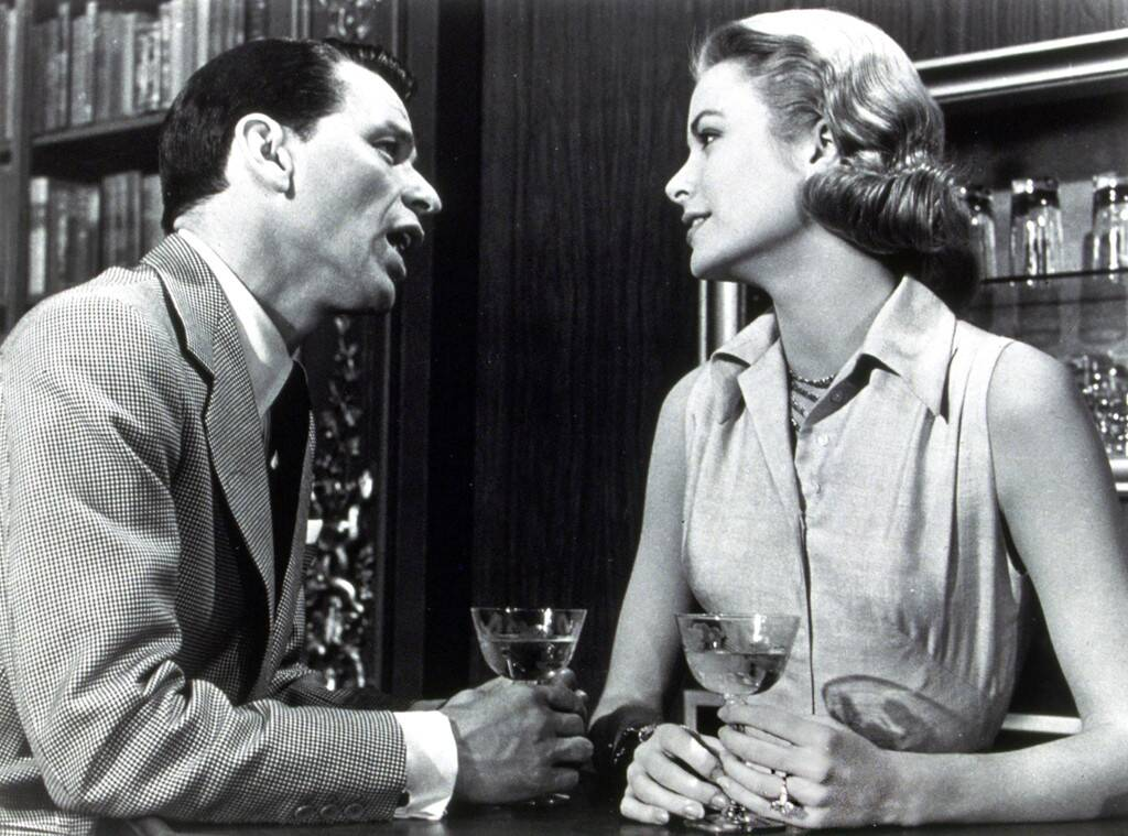 Grace Kelly and Frank Sinatra in her final film High Society.