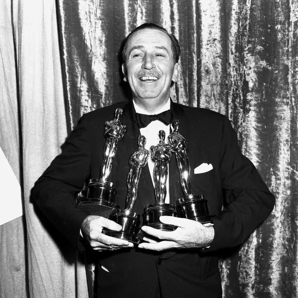 Walt Disney at the Academy Awards.